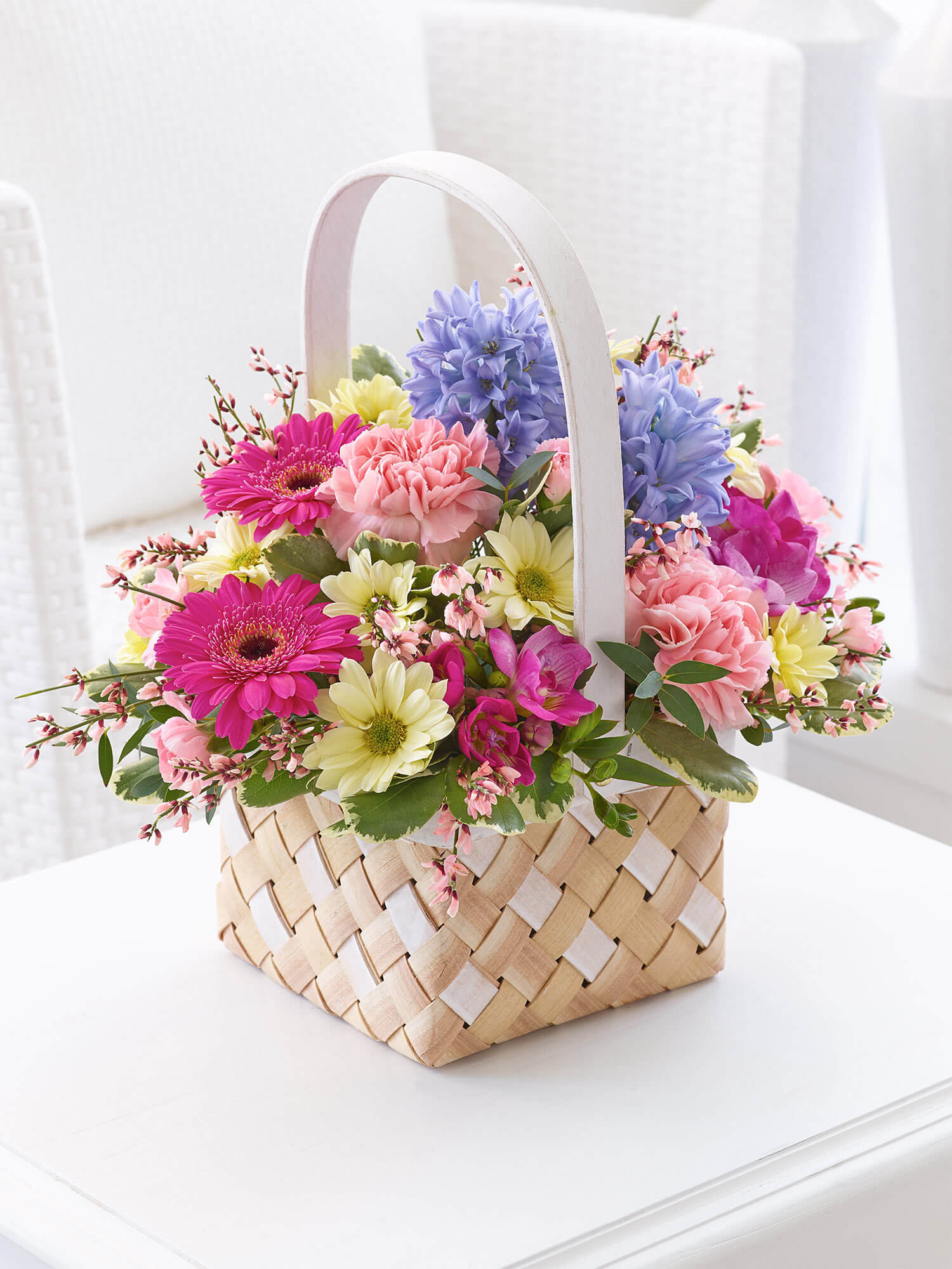 Colourful Spring Basket
