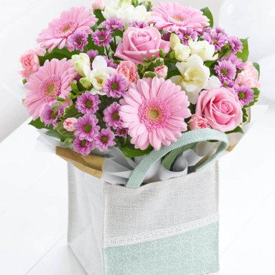 Pink Gift Bag Plus