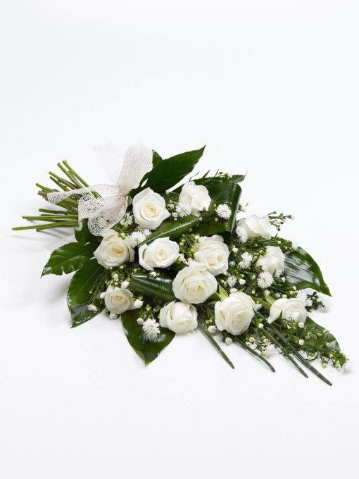 White Classic Rose Sheaf