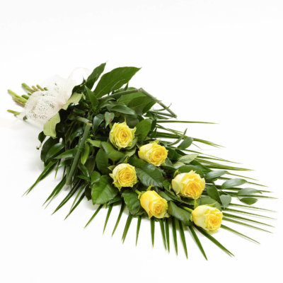 Yellow Simple Rose Sheaf