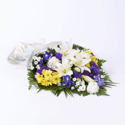 Mixed Flowers in Cellophane