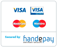 Payments secured by HandePay Merchant Services