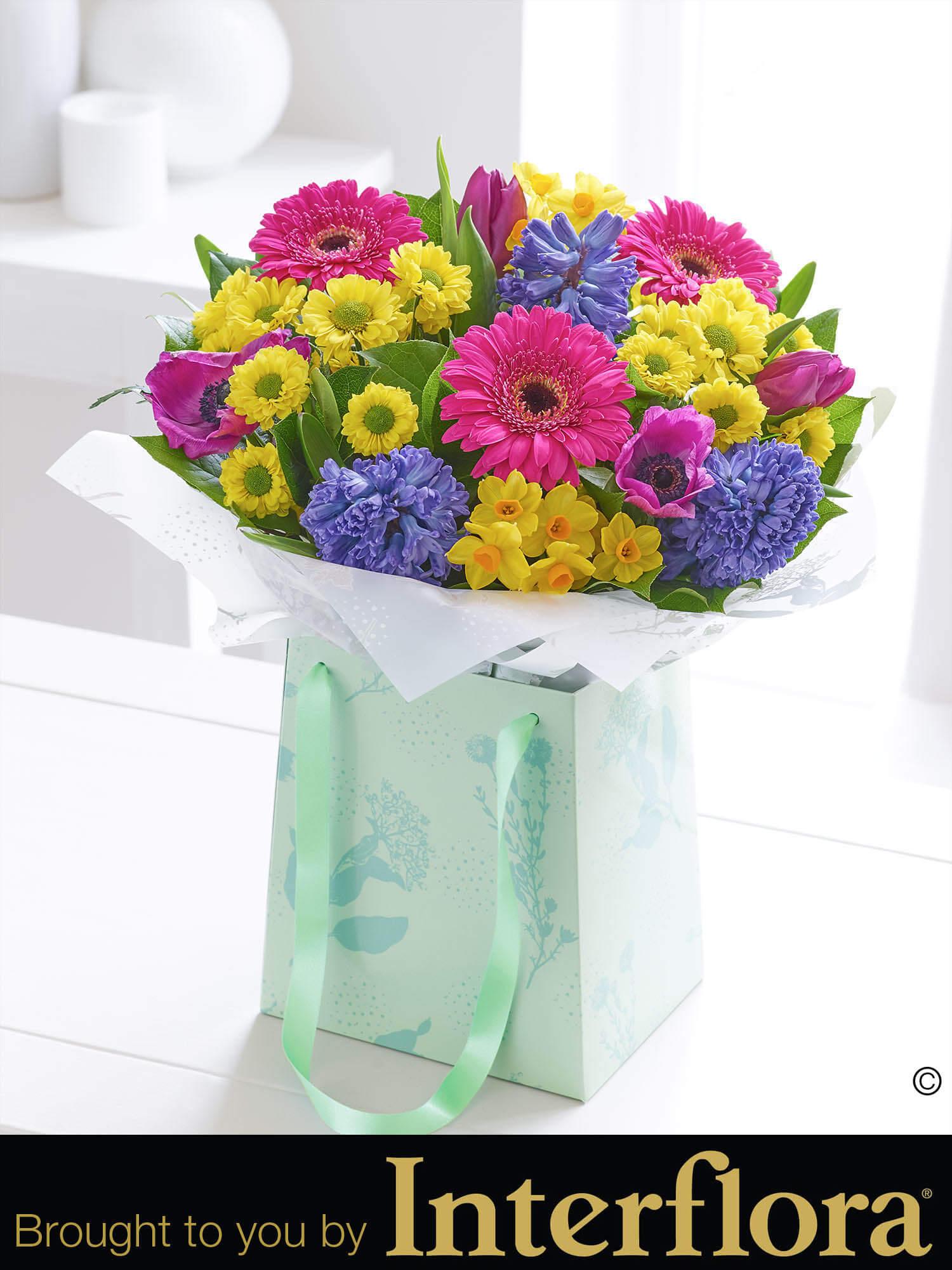 Spring Gift Bag Bbl Design Ecommerce