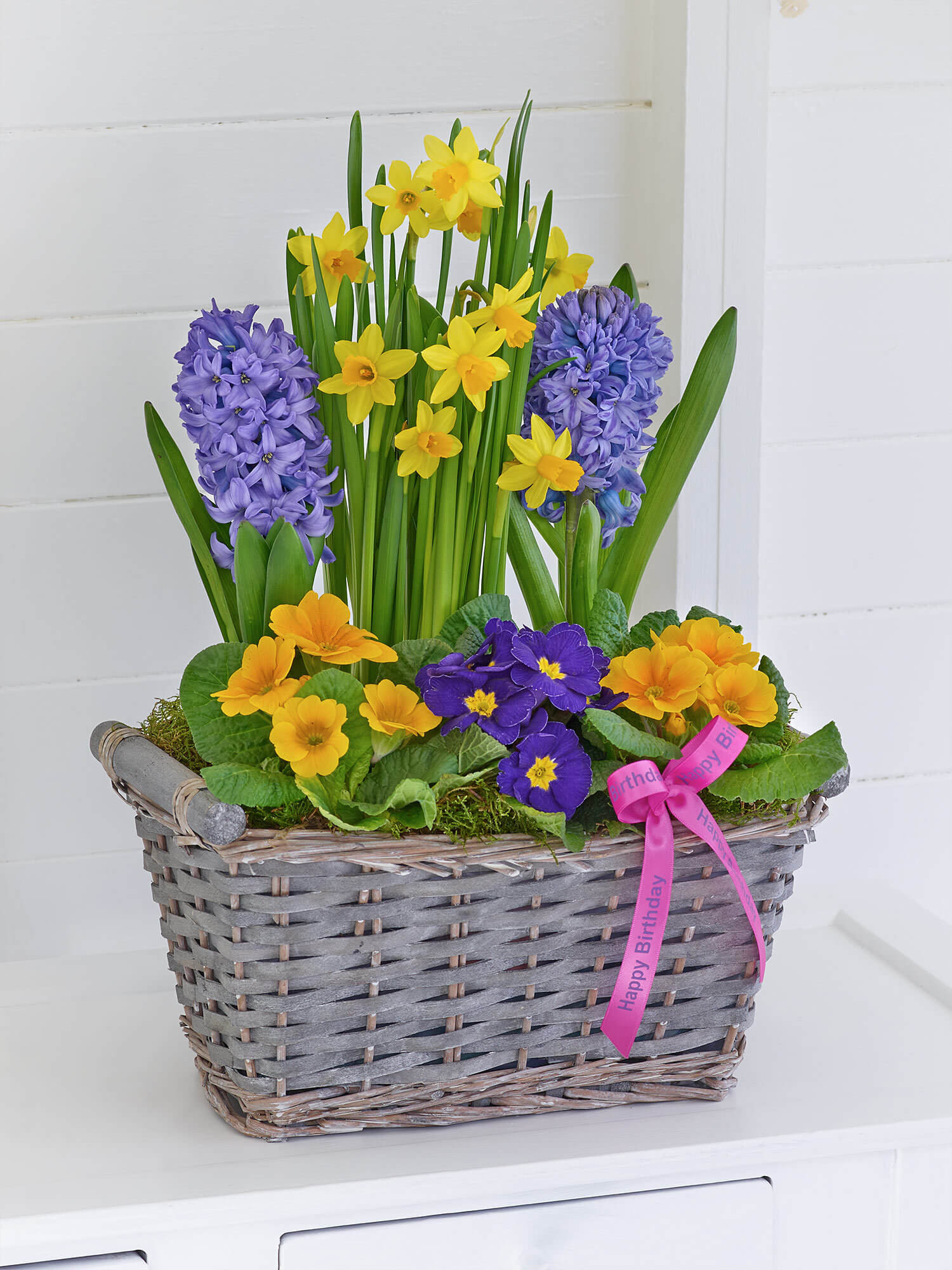 Happy Birthday Classic Spring Basket Bbl Design Ecommerce