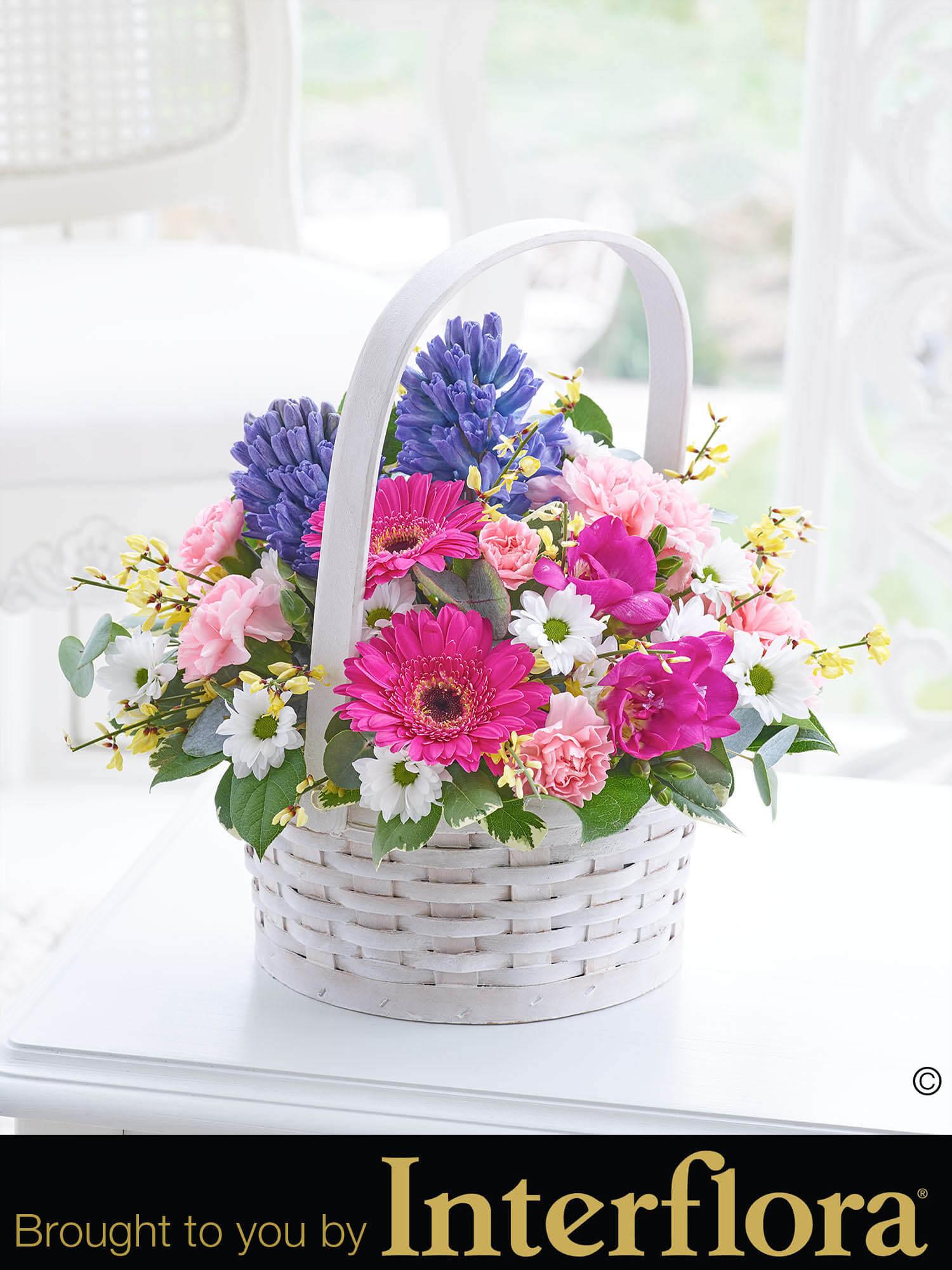 Scented spring basket bbl design ecommerce scented spring basket mightylinksfo